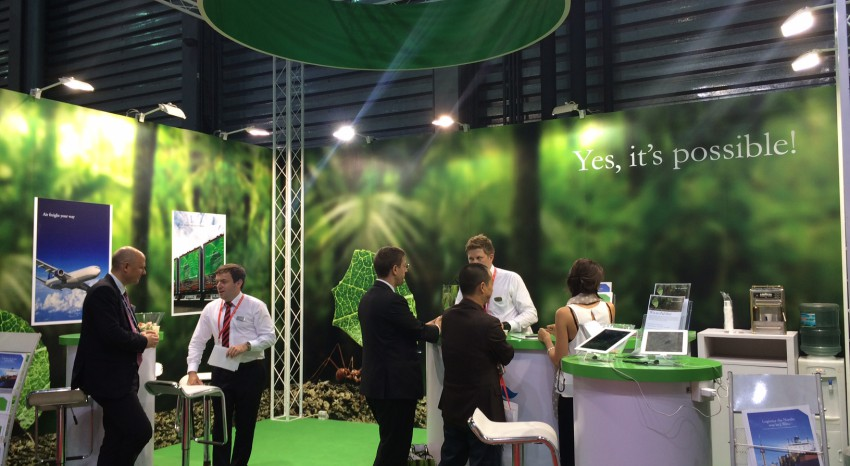 Greencarrier at the International Transport & Logistics Fair in Shanghai