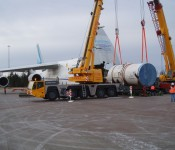 Oil & Gas logistics, critical operation in Barents Sea