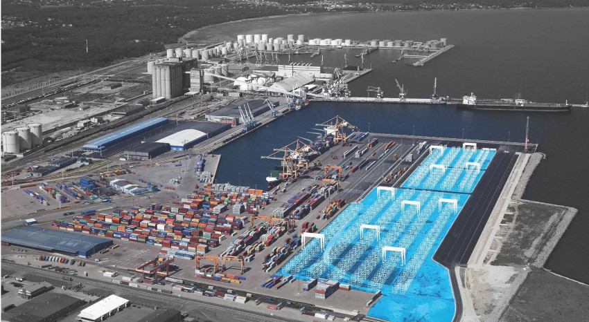 The first automated container inspection system in the world