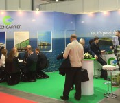 Greencarrier at the TransRussia exhibition in Moscow