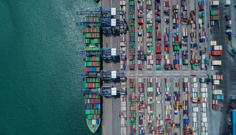 global container shipping statistics 2018